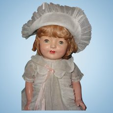 "Large Factory Original 26"" Composition Mama Doll"