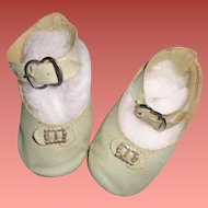 Nice Doll Shoes for Larger Composition or Bisque