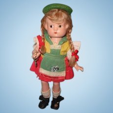 Effanbee Factory Original Patsyette Composition Doll ~ Adorable