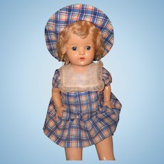 "Factory Original 24"" Large Composition Mama Doll ~ Pretty"