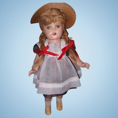 "Factory Original McGuffey Ana 20"" Composition Doll by Madame Alexander"