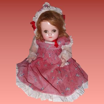 Baby McGuffey Composition Doll by Madame Alexander