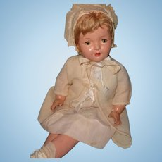 "Beautiful Large 28""Composition Mama Doll ~ Pretty"