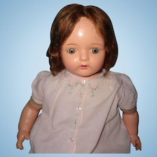 """26"""" Dolly Reckord Talking/Working Phonograph Composition Doll w/Cylinder"""
