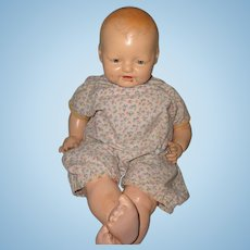 """Sweet 21"""" Baby Dimples Composition Doll ~ Horsman"""