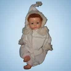 Factory Original Baby Brite Eyes in Gorgeous Eiderdown 3 pc Snow Suit ~ Effanbee