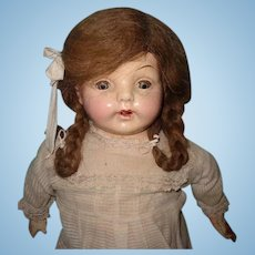Large Composition Factory Original Shabby Chic Mama Doll