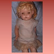 "Early Composition 20"" Doll"