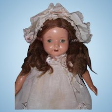 "Effanbee Large 24"" Rosemary Composition Mama Doll"