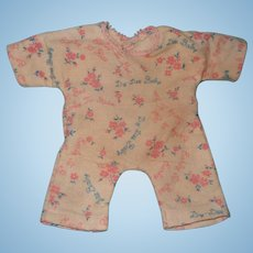 "Authentic Dy-Dee Signature Pajamas for 11"" Baby Doll ~ Effanbee"