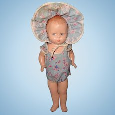 Effanbee Baby Grumpy Composition Doll ~ So Grumpy