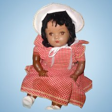 """Reallly Sweet Black Composition 22"""" Transitional Doll"""