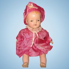 Precious Baby Hendren Composition Baby Doll ~ Pretty in Pink