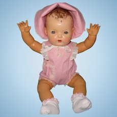 """Rare 20"""" Mold 1 Dy-Dee Lou Baby Doll by Effanbee w/ Box and Extras"""