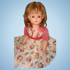 Rare Effanbee Patsy Ruth Mama Composition Doll ~ Soft Body