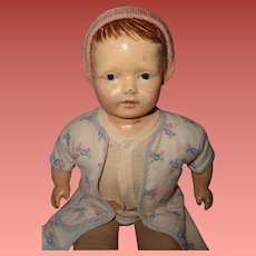 Early Composition Boy Doll ~ very cute