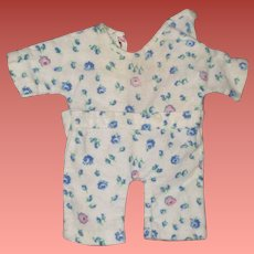 """Authentic Effanbee Dy-Dee Pajama  for 11"""" Baby Doll"""