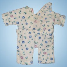 "Authentic Effanbee Dy-Dee Pajama  for 11"" Baby Doll"