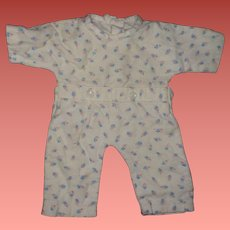 """Authentic Effanbee Dy-Dee Pajamas for 15"""" Baby Doll"""