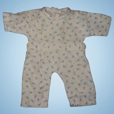 "Authentic Effanbee Dy-Dee Pajamas for 15"" Baby Doll"