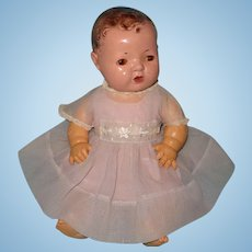"RARE Effanbee Dy-Dee Party Dress for 15"" Baby Doll ~ Sweet"