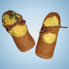 Nice Large Shoes for Composition or Bisque Doll