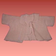 "Effanbee Eiderdown Dy-Dee Lou Short Bed Coat for 20"" Baby"
