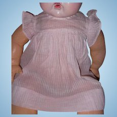 "Factory Effanbee Dress for 20"" Dy-Dee Baby Doll"