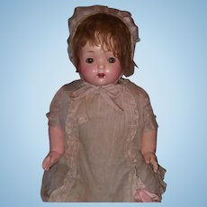 "Big Effanbee Factory Original 27"" Composition Mama Doll"