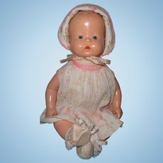 "Factory Original 13"" Buttercup Composition Baby Doll in Tagged Outfit"