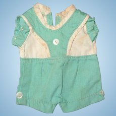 """Authentic Effanbee Patsyette Play Suit for 9"""" Composition Doll"""