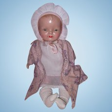 Factory Original Horsman Composition Baby Doll ~ Cutie pie