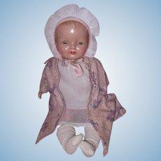 Factory Original Horsman Composition Baby Doll ~ Cutie pie