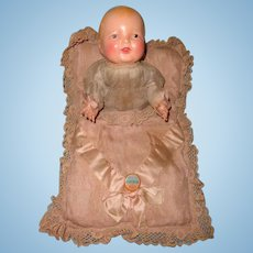 Early Effanbee Bubbles Composition CLAPPING HANDS Baby Doll ~ Rare