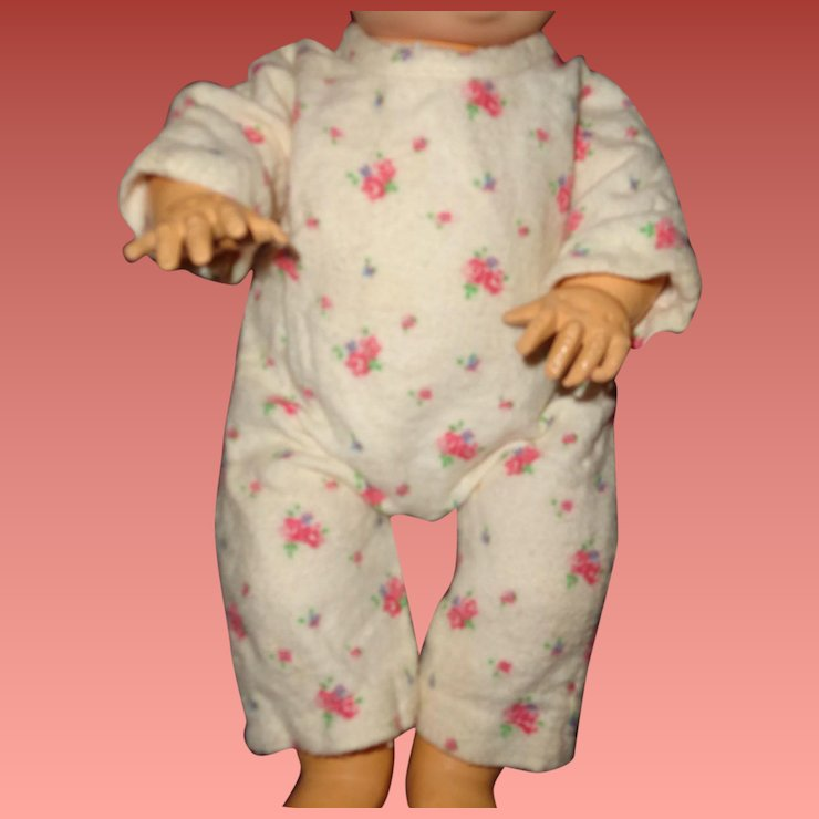 25c65f9973 Effanbee Dy-Dee Flannel Drop Seat Pajamas for 11