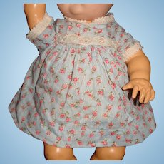 "Cute Effanbee Dy-Dee Dress for 11"" Baby Doll"