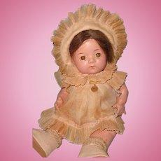 "12"" Factory Original Dionne Quintuplet Composition Baby Doll ~ Madame Alexander"