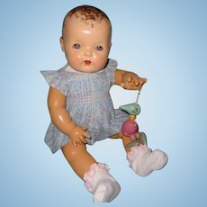 """Rare Mold 1 Dy-Dee Lou 20"""" Effanbee Baby Doll ~ in Factory Original Outfit~ Extended Layaway"""