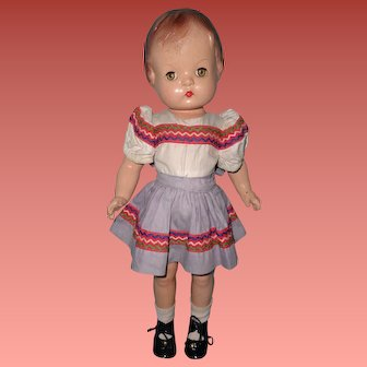 """Effanbee 17"""" Patsy Joan Composition Doll (2nd Version)"""