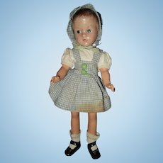 "Effanbee 11"" Suzette Composition Doll"