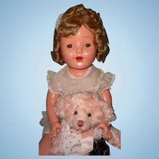 "Huge 30"" Composition Mama Doll ~ Beautiful"
