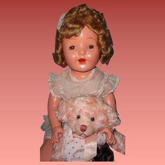 "Huge 30"" Composition Mama Doll ~ Beautiful"