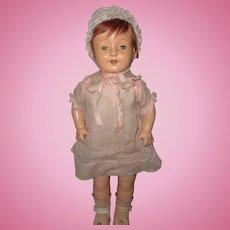 Pretty Horsman Rosebud Composition Doll ~ Factory Original