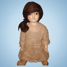 Very Early Ideal Composition Doll ~ pretty