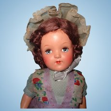 "Factory Original 21"" Composition Mama Doll ~ Beautiful Color ~ Think Xmas"