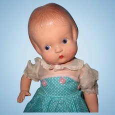 "Effanbee Patsy 13"" Composition Doll ~ Cute"