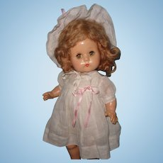 "Adorable 20"" 1940s Composition Doll ~ Gift Giving Condition"