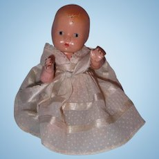 Effanbee Baby Tinyette Composition Doll