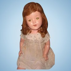 "Lovely Factory Original 25"" Composition Mama Doll"