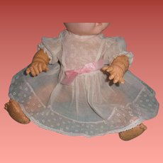 "Authentic Effanbee Dy-Dee Dress for 15"" Baby Doll"